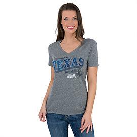 Dallas Cowboys Texas Greetings V-Neck Tee