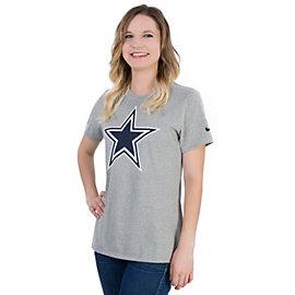Dallas Cowboys Nike Women's Logo Cotton Crew