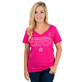 Dallas Cowboys Nike Womens BCA Triblend Tee