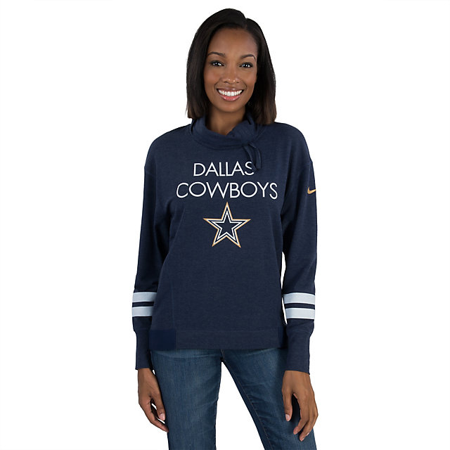 Dallas Cowboys Nike Championship Drive Obsessed Pullover