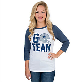 Dallas Cowboys Go Team Raglan Tee