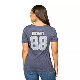 Dallas Cowboys Dez Bryant #88 Dallas Name & Number Tee