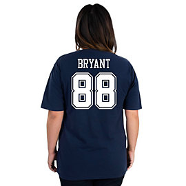 Dallas Cowboys Missy Dez Bryant #88 Name and Number Tee