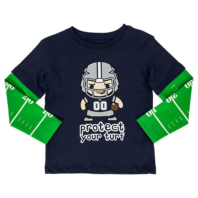 Dallas Cowboys Toddler Roxton Layered Tee