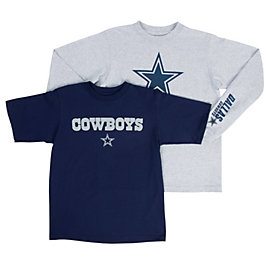 Dallas Cowboys Youth Crane Combo Tee