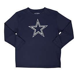 Dallas Cowboys Youth Lamar Long Sleeve Performance Tee