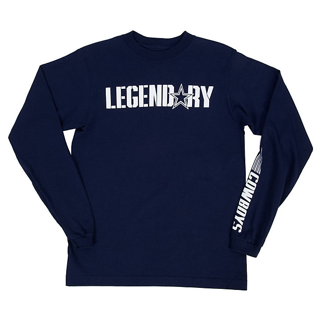 Dallas Cowboys Youth Legendary Too Long Sleeve Tee