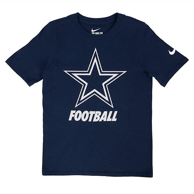Dallas Cowboys Nike Youth Facility Tee