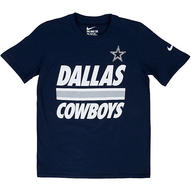 Dallas Cowboys Nike Youth Team Stripe Tee