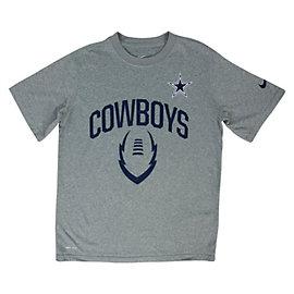 Dallas Cowboys Youth Nike Legend Icon Tee