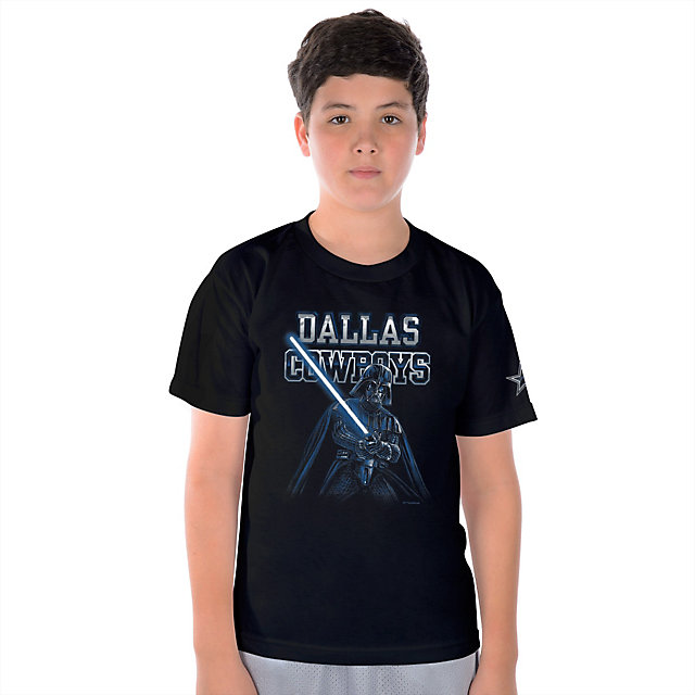 Dallas Cowboys Star Wars Youth Vader Fearless Tee