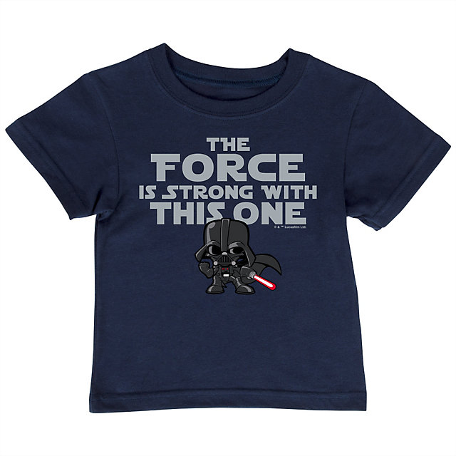 Dallas Cowboys Star Wars Kids Force Is Strong Tee
