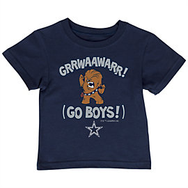 Dallas Cowboys Star Wars Kids Lil Chewie Tee