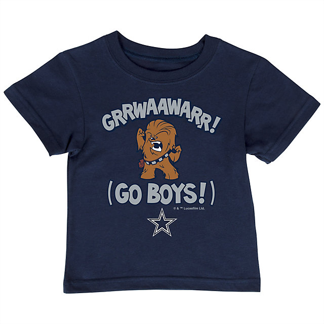 Dallas Cowboys Star Wars Toddler Lil Chewie Tee