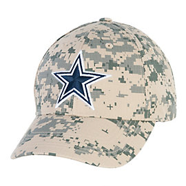 Dallas Cowboys Washed Digital Camo Cap