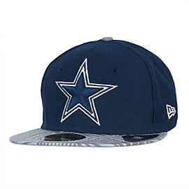 Dallas Cowboys New Era Print Trance 59Fifty Cap
