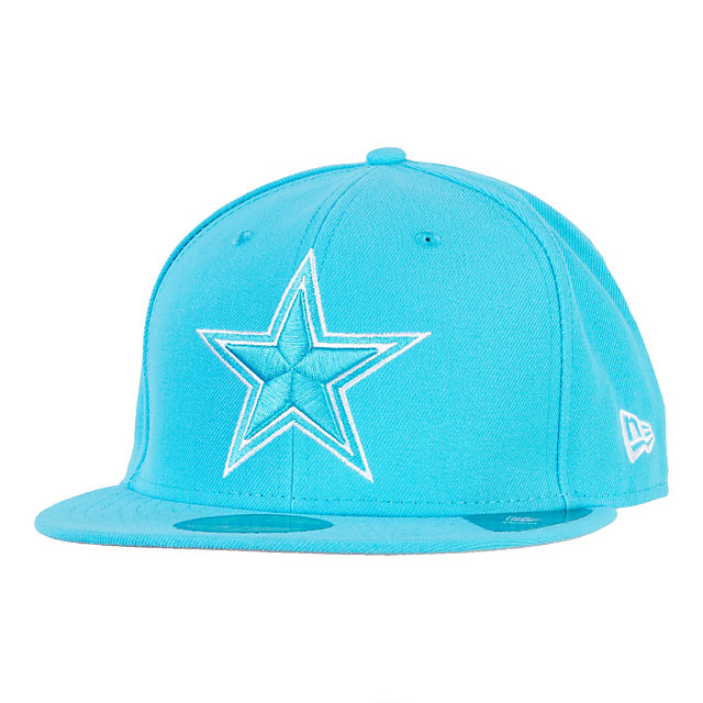 Dallas Cowboys New Era League Basic 59Fifty Cap