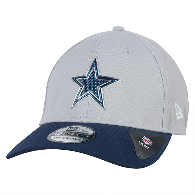 Dallas Cowboys New Era 2015 Draft Grey 39Thirty