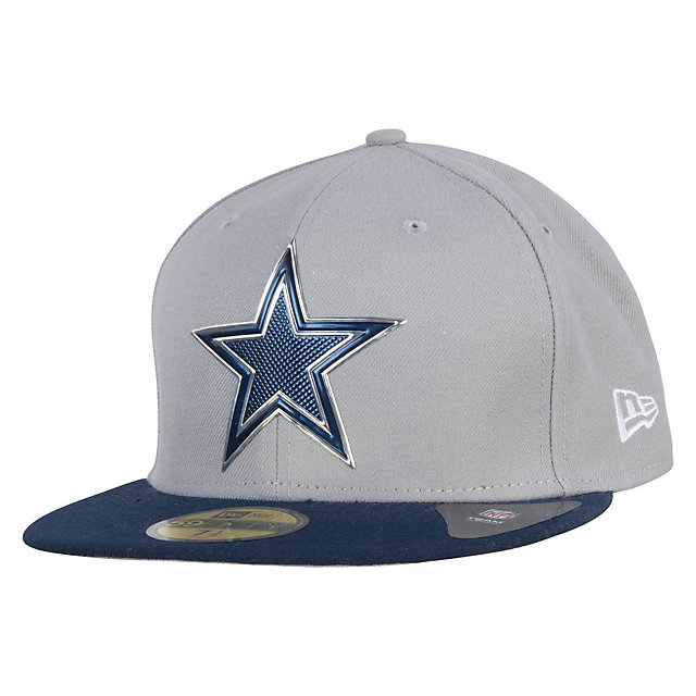 Dallas Cowboys New Era 2015 Grey Onstage Draft 59Fifty