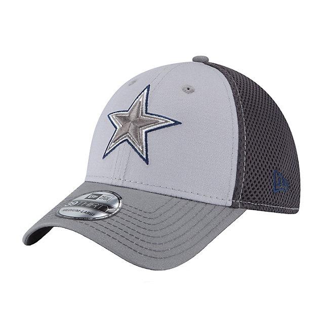 Dallas Cowboys New Era Greyed Out Neo 39Thirty Cap
