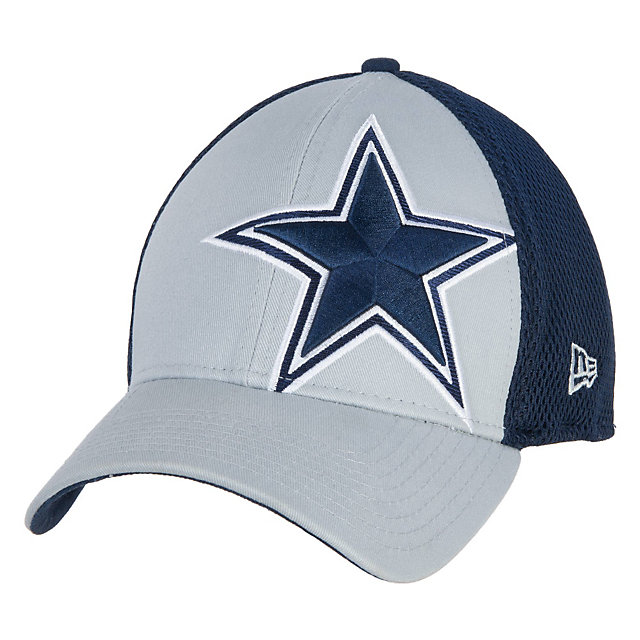 Dallas Cowboys New Era Logo Blimp Neo 39Thirty Cap