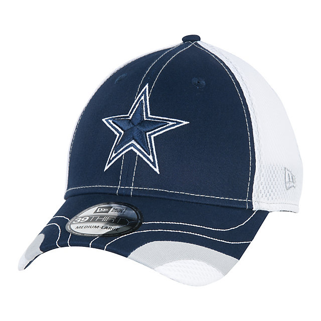 Dallas Cowboys New Era Tumbled Neo 39Thirty Cap