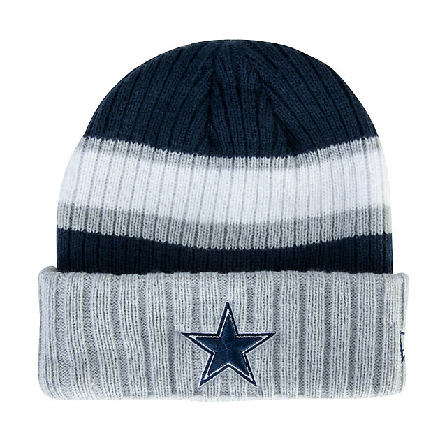 Dallas Cowboys New Era Rib Start Knit Hat