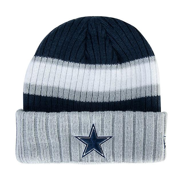 Dallas Cowboys New Era Rib Start Knit Hat