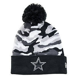Dallas Cowboys New Era Camo Captivate Knit Hat