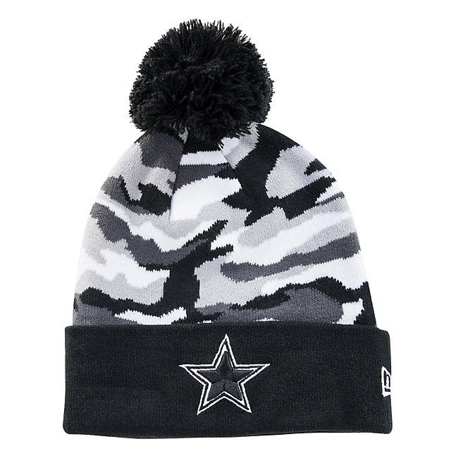 Dallas Cowboys New Era Camo Captivate Knit Hat