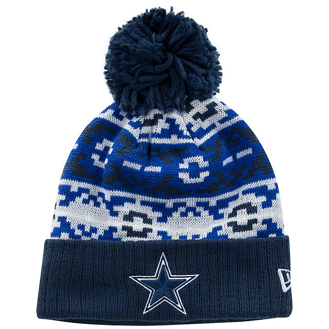 Dallas Cowboys New Era Retro Chill Knit Hat