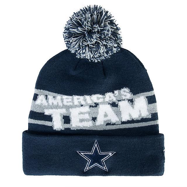 Dallas Cowboys New Era Slogomark Knit Hat