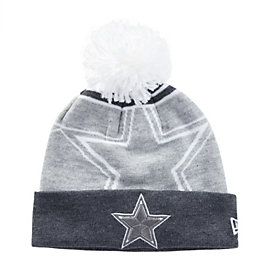 Dallas Cowboys New Era Logo Wiz Knit Hat