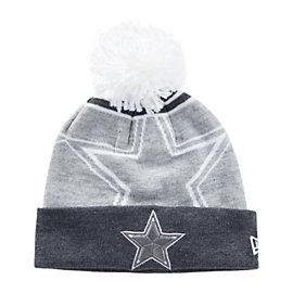 Dallas Cowboys New Era Logo Wiz Knit Hat