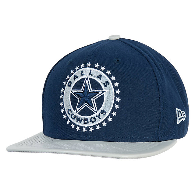 Dallas Cowboys New Era Leather Tag Snapback