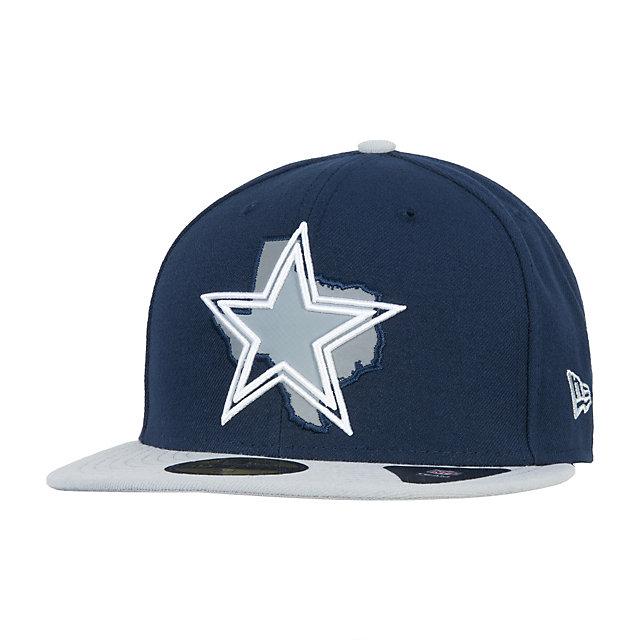 Dallas Cowboys New Era State Flective Redux 59Fifty Cap