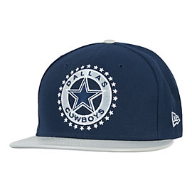 Dallas Cowboys New Era Leather Tag Fitted 59Fifty Cap