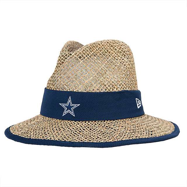 Dallas Cowboys New Era Training Straw Hat