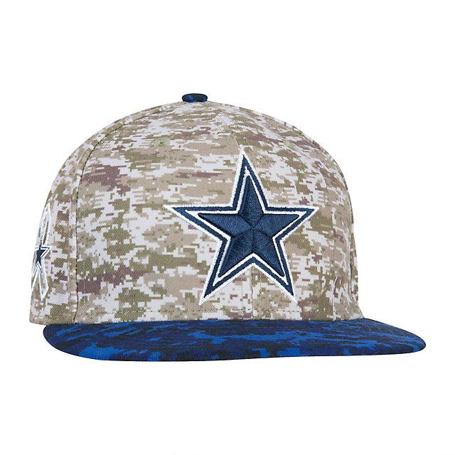 Dallas Cowboys New Era Salute to Service 59Fifty Cap