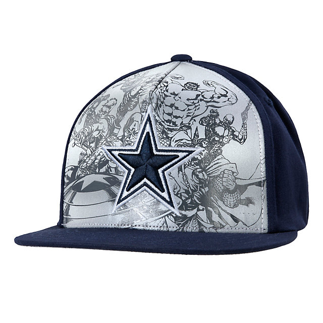 Dallas Cowboys MARVEL Team Reflective Cap