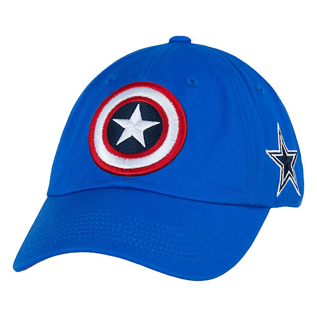 Dallas Cowboys MARVEL Captain Shield Slouch Cap