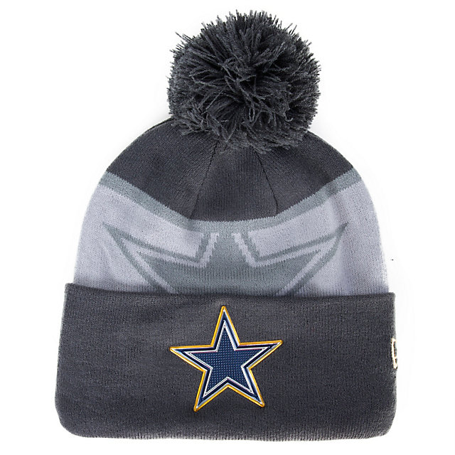 Dallas Cowboys New Era Gold Collection Knit Cap