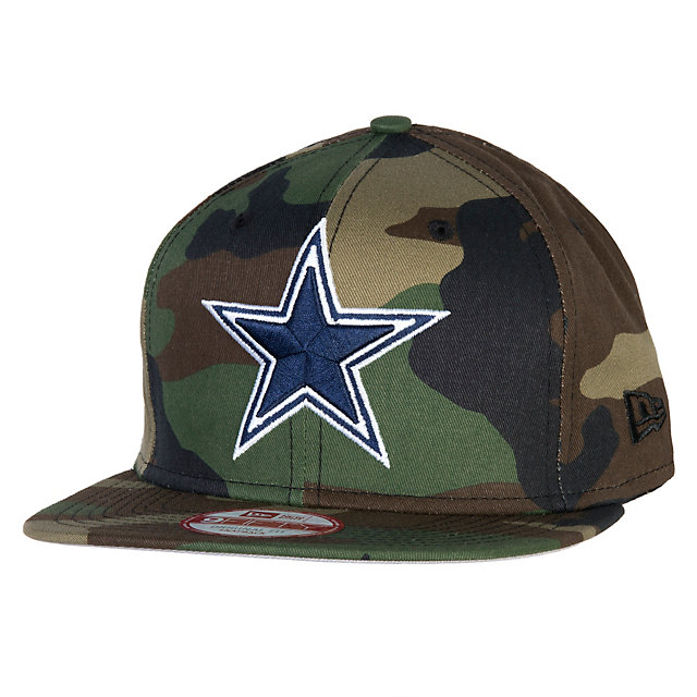 Dallas Cowboys New Era State Clip Snapback 9Fifty Cap