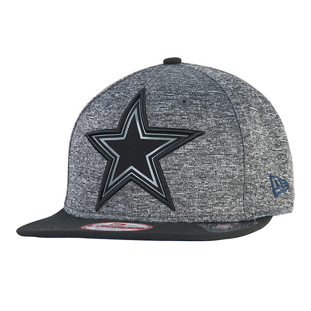 Dallas Cowboys New Era Gridiron Grey Collection 9Fifty Cap