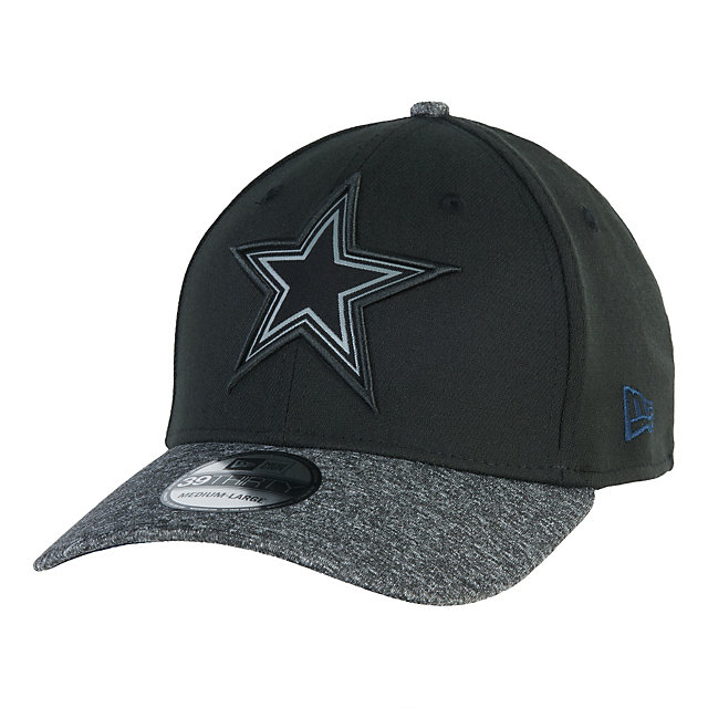 Dallas Cowboys New Era Gridiron Grey Collection 39Thirty Cap