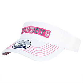 Dallas Cowboys Womens Fashion Visor