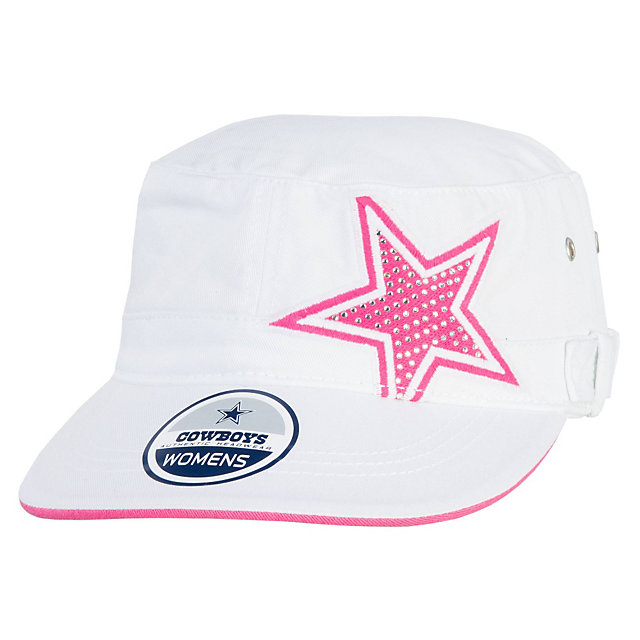 Dallas Cowboys Womens Rhinestone Sally Cap