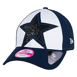 Dallas Cowboys New Era Womens Glitter Glam Cap