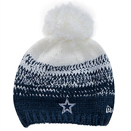 Dallas Cowboys New Era Polar Dust Knit Hat
