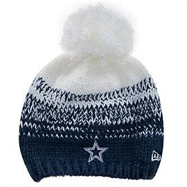 Dallas Cowboys New Era Polar Dust Knit Hat